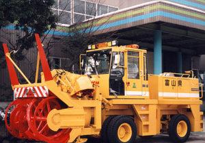 ロータリー除雪車装置製作
