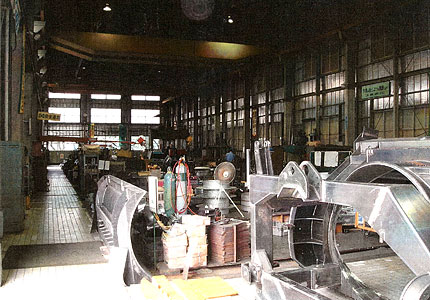製缶工場設備