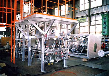 セメント会社向混和剤投入装置