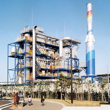 産業廃棄物焼却設備製作