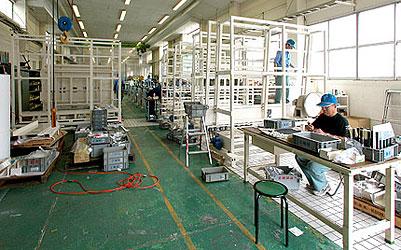 専用機組立工場